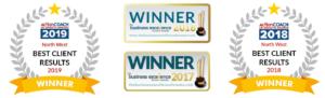 Award Winning Badges