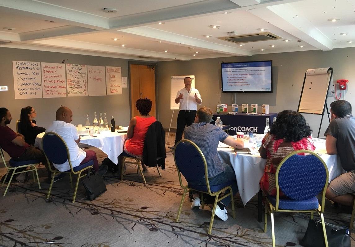 Will Roig business coaching seminar