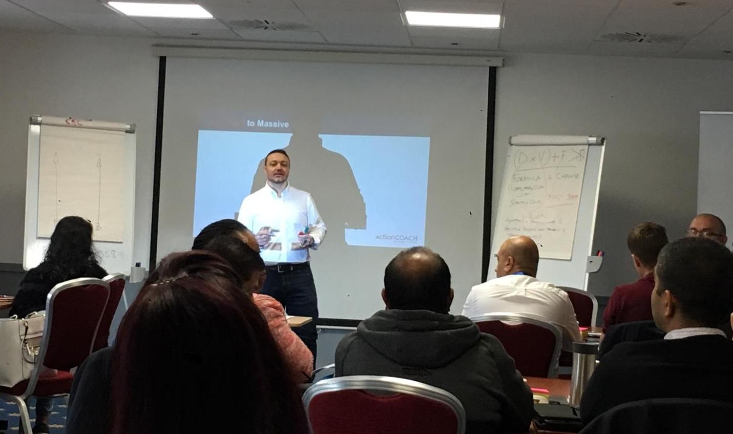 William Roig business coach seminar
