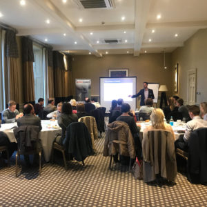 A buzzing room full of businesses at Harrogate's ProfitCLUB