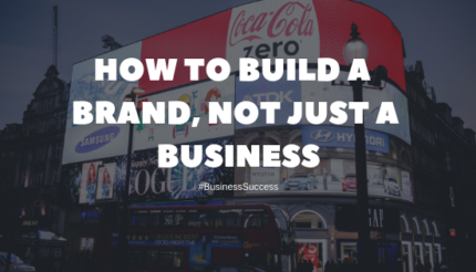create your business brand