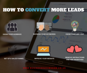 How to convert more leads and get more customers and make more sales