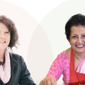 Ros and Sharmi - workshop presenters