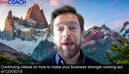 How to make your business stronger coming out of covid 19