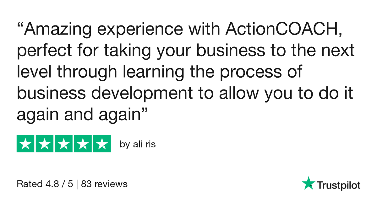 Business coaching review - ActionCOACH review
