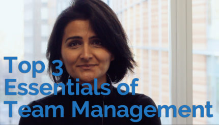 3 Essentials of Team Management